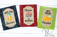 Fall Harvest Cards