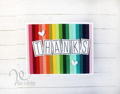Rainbow Thanks