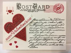 Valentine Old-Fashioned Postcard