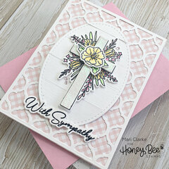 Sympathy Card by Mari Clarke