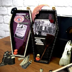 Tim Holtz Coffin Vignette