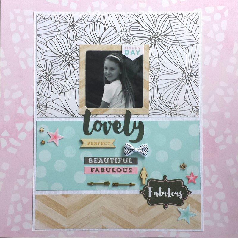Lovely Beautiful Fabulous by Amanda Baldwin for Cocoa Vanilla Studio