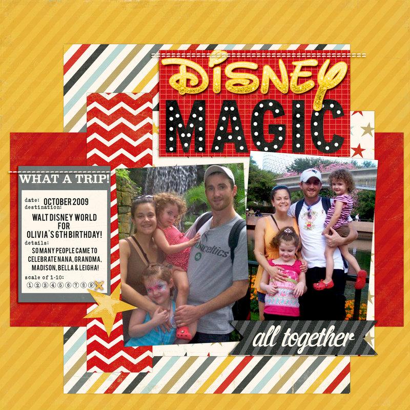 My First Disney layout