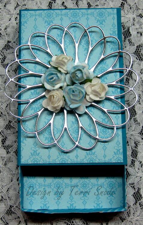 Blue Matchbox