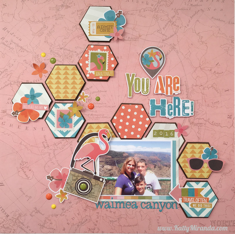 You are Here Layout