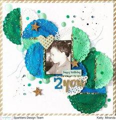 Happy B-day 2 You 12x12 Layout