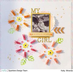 My Girl Layout by Katty Miranda