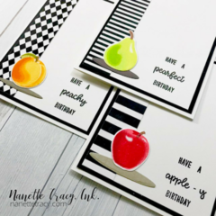 Fruit Cocktail Birthday Cards