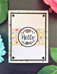 Sizzix Sidekick Hello Card