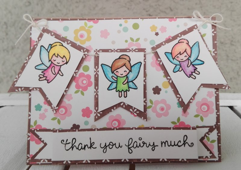 THANK YOU FAIRY MUCH CARD