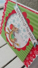 CHRISTMAS TIME POP-UP CARD
