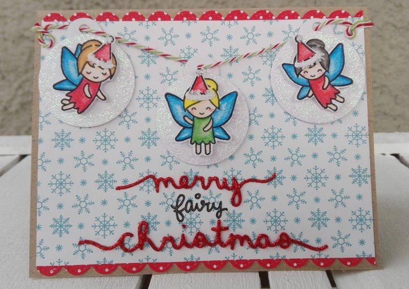 MERRY FAIRY CHRISTMAS CARD