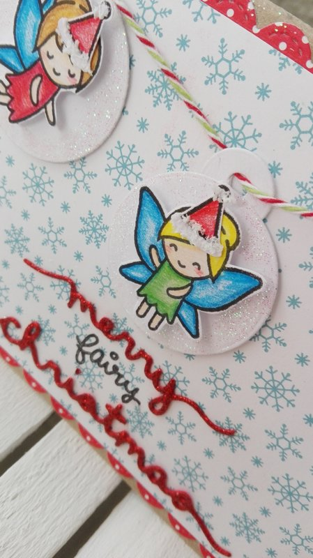 MERRY FAIRY CHRISTMAS CARD