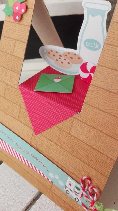 COOKIES FOR SANTA CARD