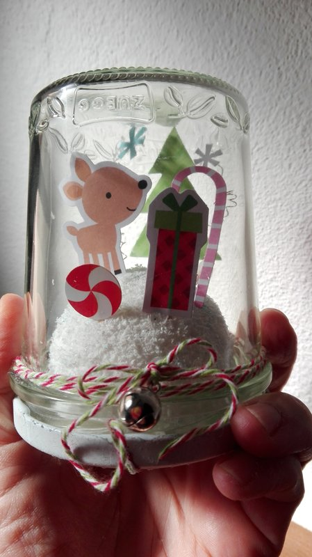 WARM WINTER WISHES IN A JAR HOME DECOR
