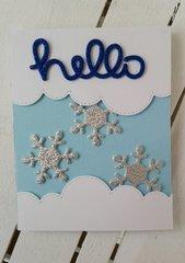 HELLO SNOWMEN CARD