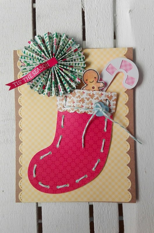 A CHRISTMAS STOCKING FOR YOU CARD