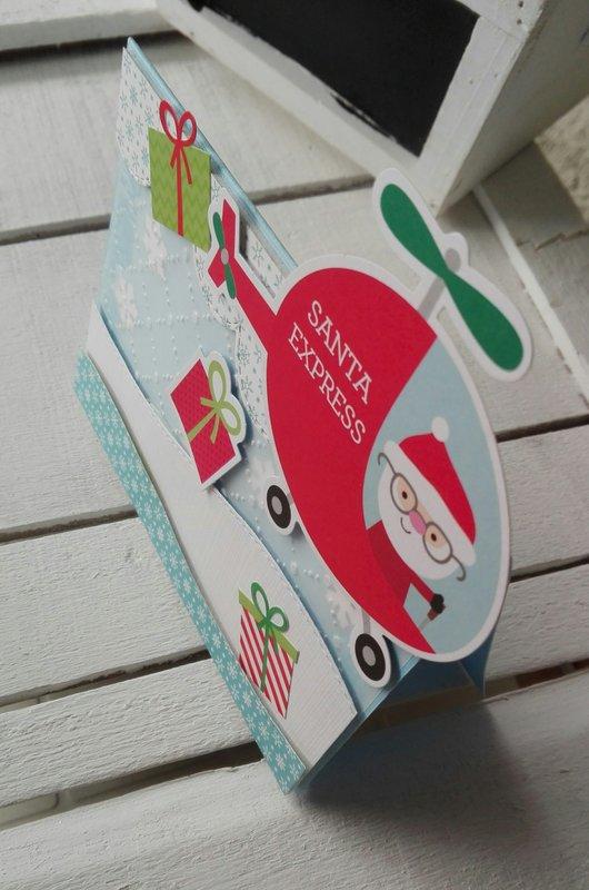 SANTA IS COMING!!! CARD