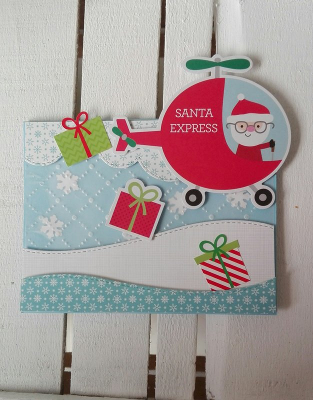 SANTA IS COMING!!! CARD