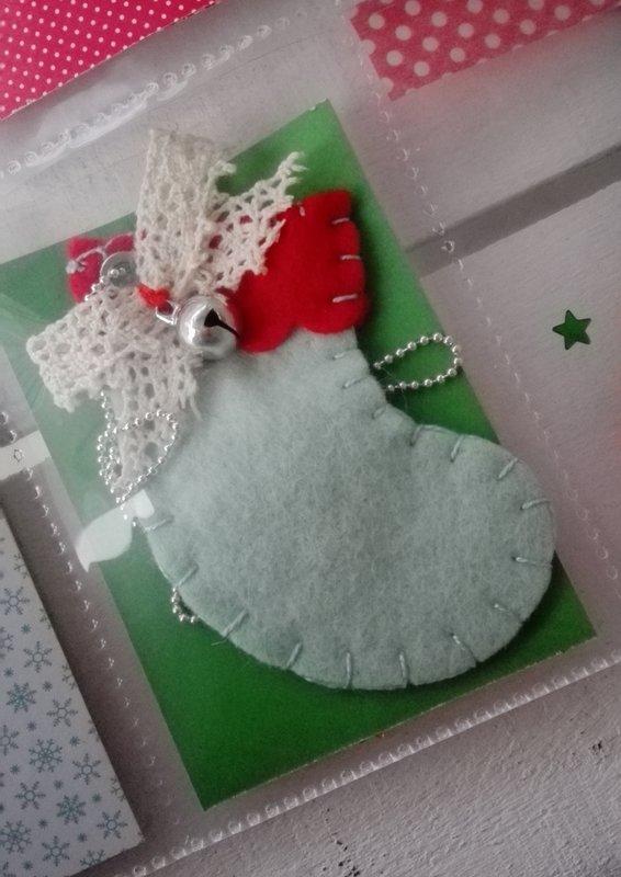 MERRY CHRISTMAS POCKET LETTER