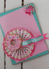 """DONUT WORRY, BE HAPPY!"" CARD"