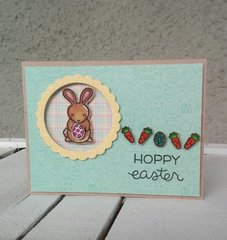 """HOPPY EASTER"" CARD"