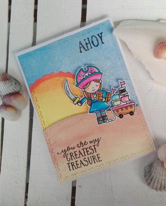 """AHOY"" BIRTHDAY CARD"