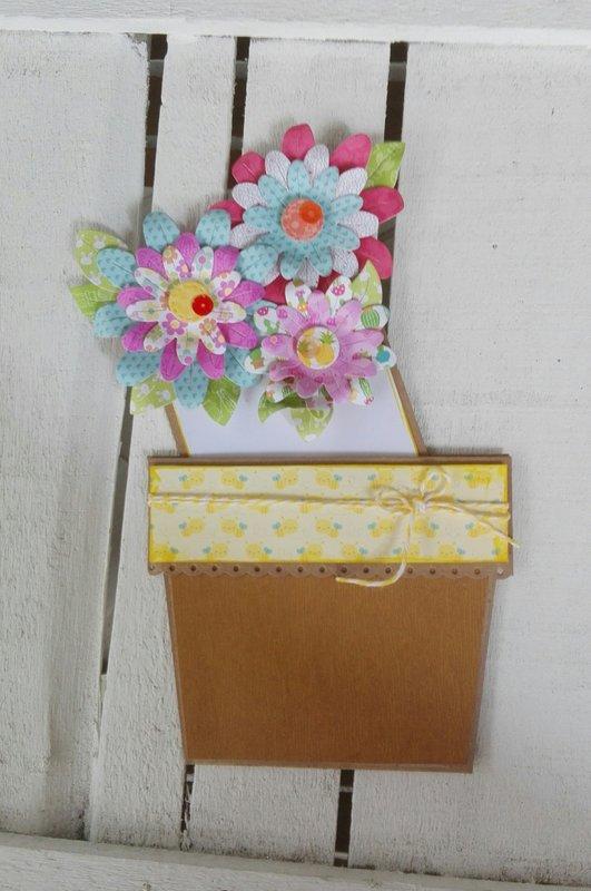 """A """"FLOWER POT CARD"""""""