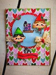 """HAPPY CHRISTMAS"" CARD"