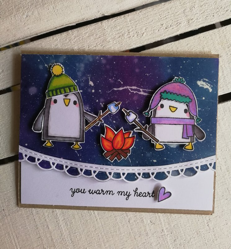 A WARM WINTER CARD