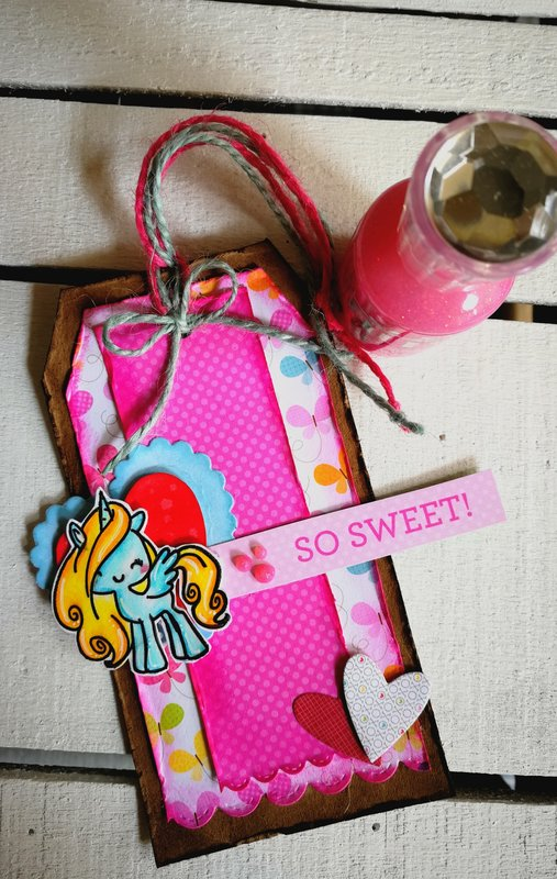 """SO SWEET"" TAG/BOOKMARK"