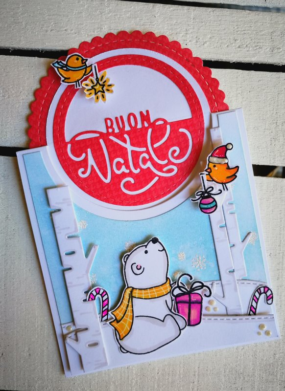 """BUON NATALE"" POP-UP CHRISTMAS CARD"