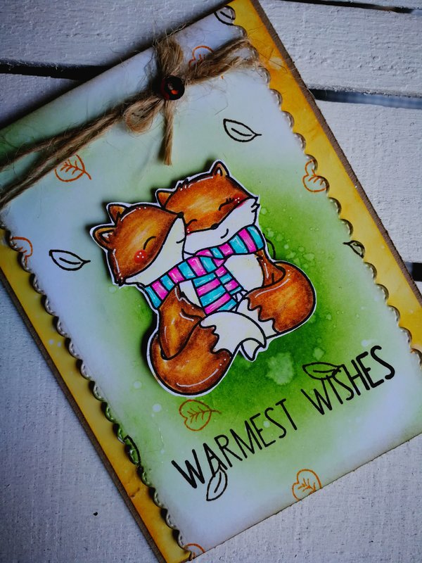 """""""WARMEST WISHES"""" CARD"""