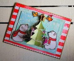 A 3D CHRISTMAS CARD