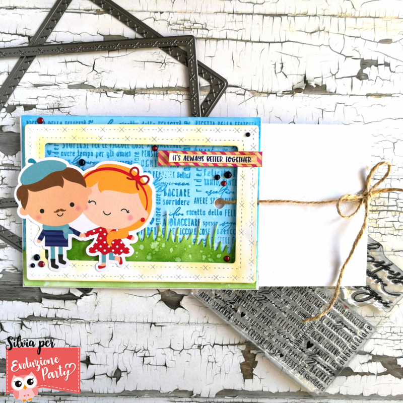 IT'S ALWAYS BETTER TOGETHER RIBBON SLIDER CARD