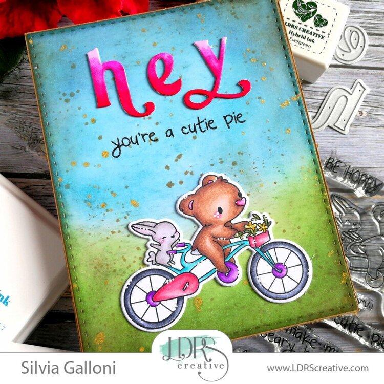 Hey, you're a cute pie