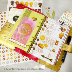 *** Websters Pages Color Crush Planner***