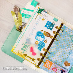 *** Light Teal Color Crush Planner ***