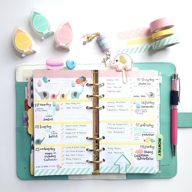 Color Crush Planner - Pastel Theme