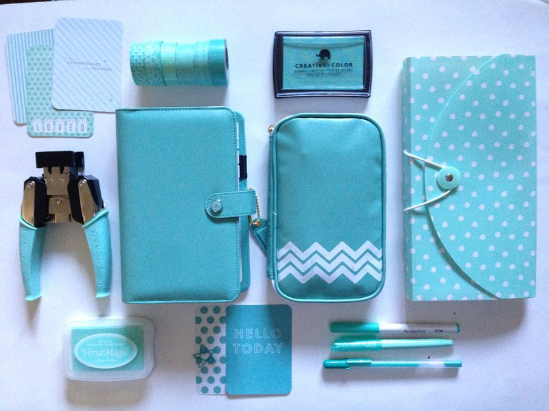 Color Crush Planner - Light Teal