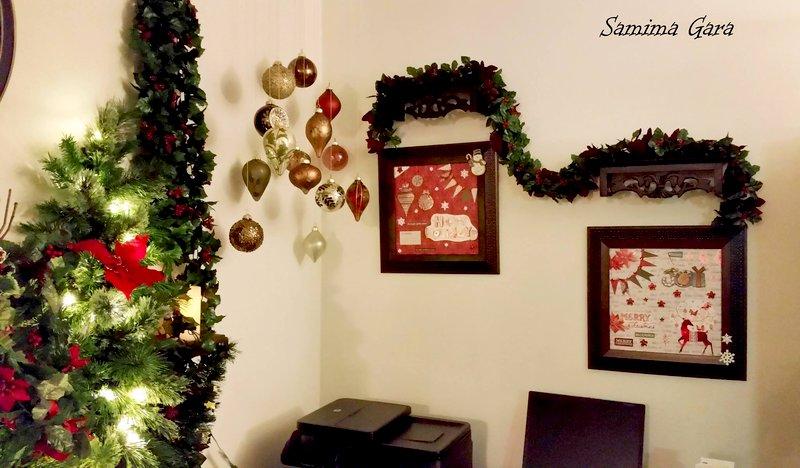 2014 Christmas eve. Handmade Christmas Frames.