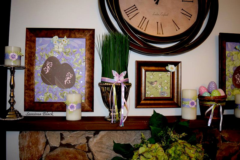 Home Easter Decor