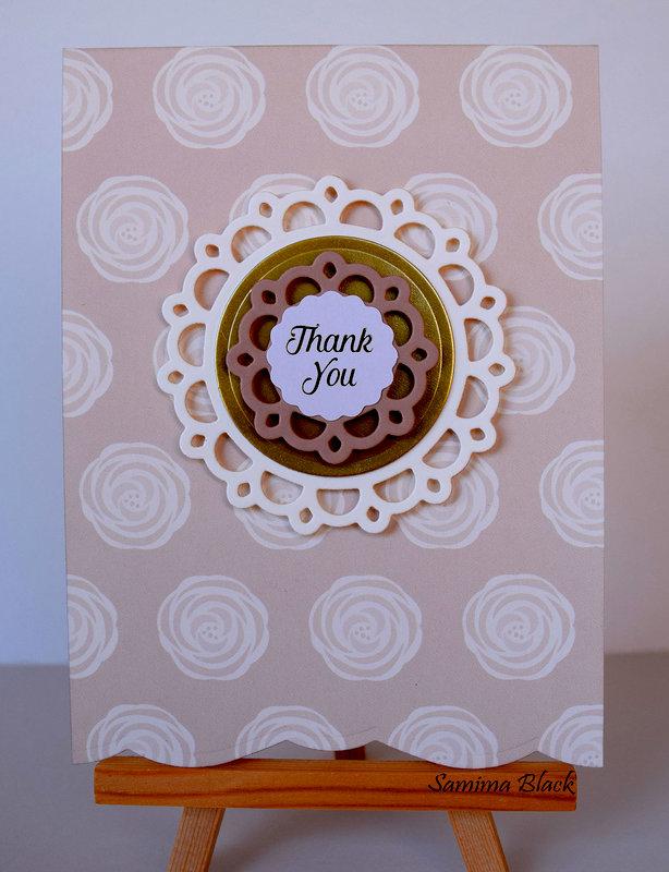 Blush Thank You Card Set.
