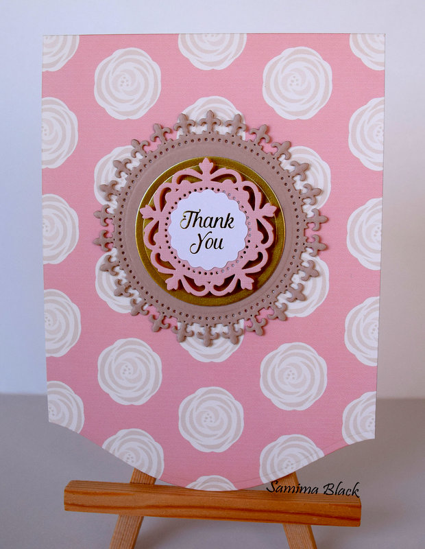 Blush Thank You Card Set.