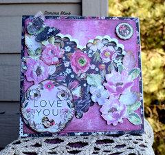 Prima Rossibelle Card- Love You