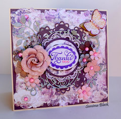 French Riviera Thank You Card