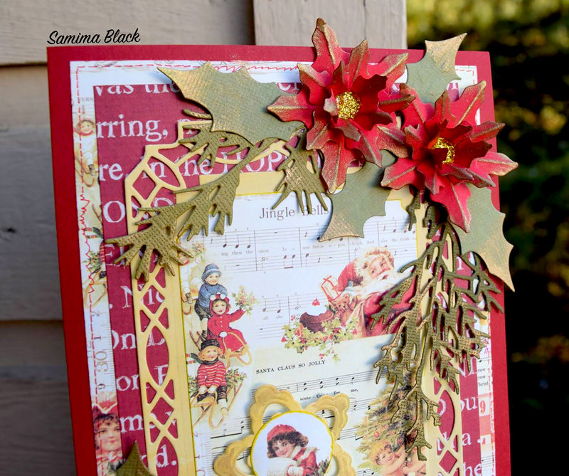 Sweet Peppermint - No Peeking Card