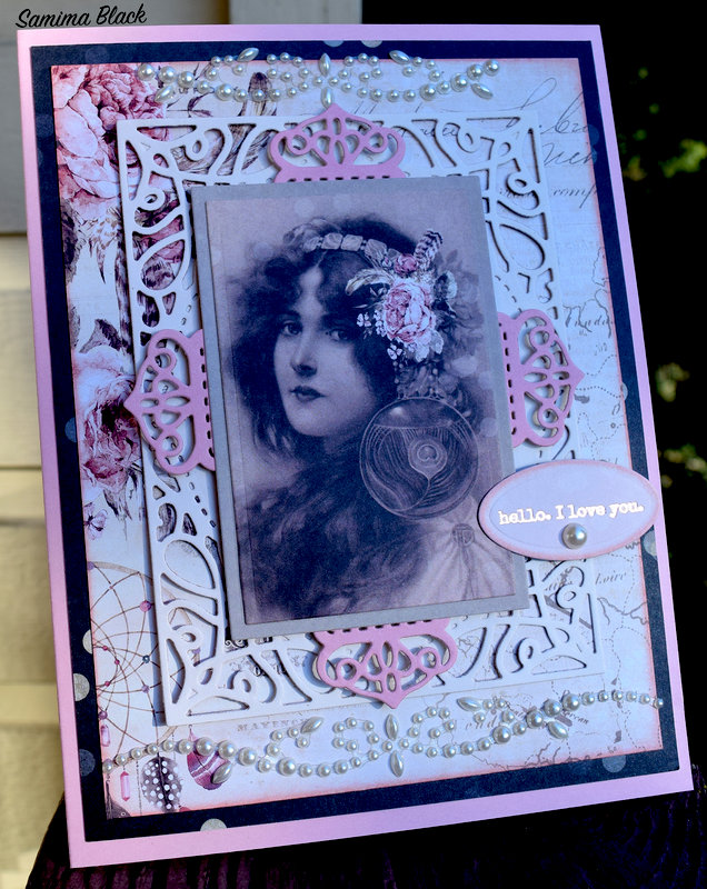 Wild and Free Card- Pretty Little Notes