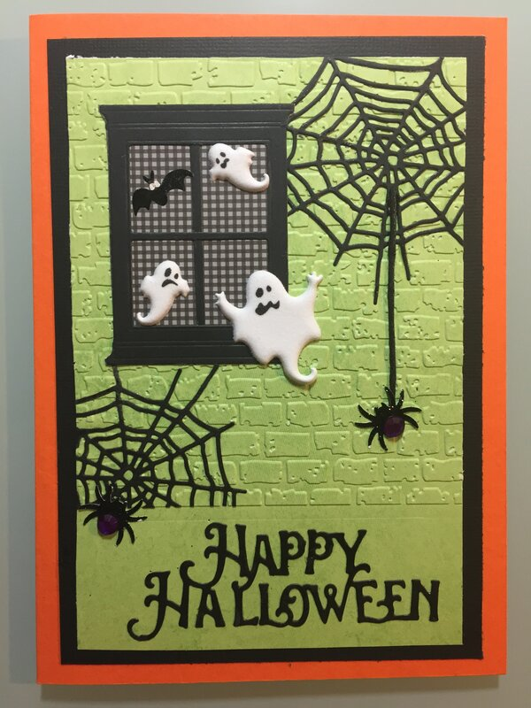 Halloween Card for Grandson