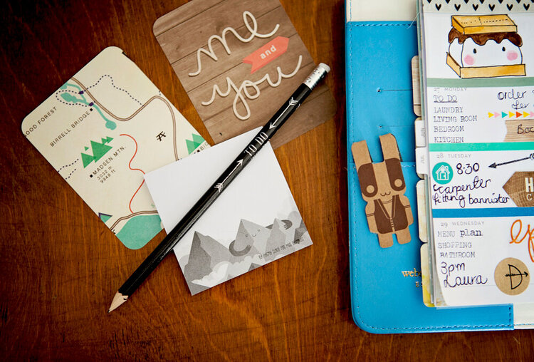 The Great Outdoors Planner Pages
